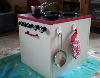 Play Kitchen Hacks – One Crafty Place