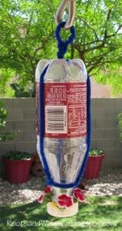 Recycled Hummingbird Feeder