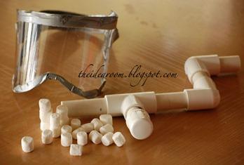 Homemade Marshmallow Gun