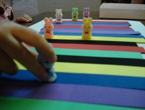 Homemade Color Game for Toddlers