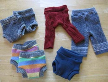 Free Crochet wool diaper cover pattern - Cloth Diapers & Parenting