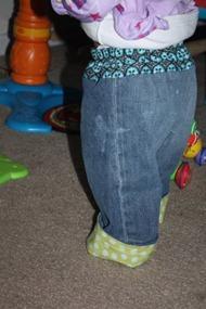 Jeans to Kid Pants Tutorial