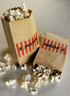 Free Popcorn Printable + Pink Popcorn
