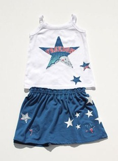 Festive 4th of July Toddler Outfit