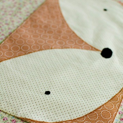 fox placemat pattern