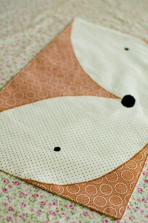 Fox and Panda Placemats: Free Pattern