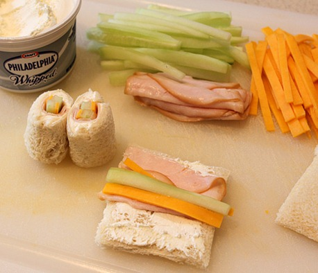 lunch sushi sandwich
