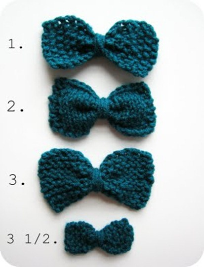 3.5 bows cornflower blue studio