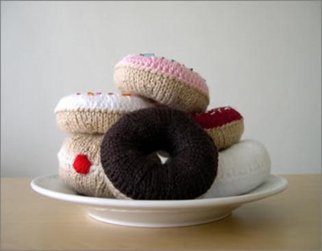 knitted doughnuts i like lemons