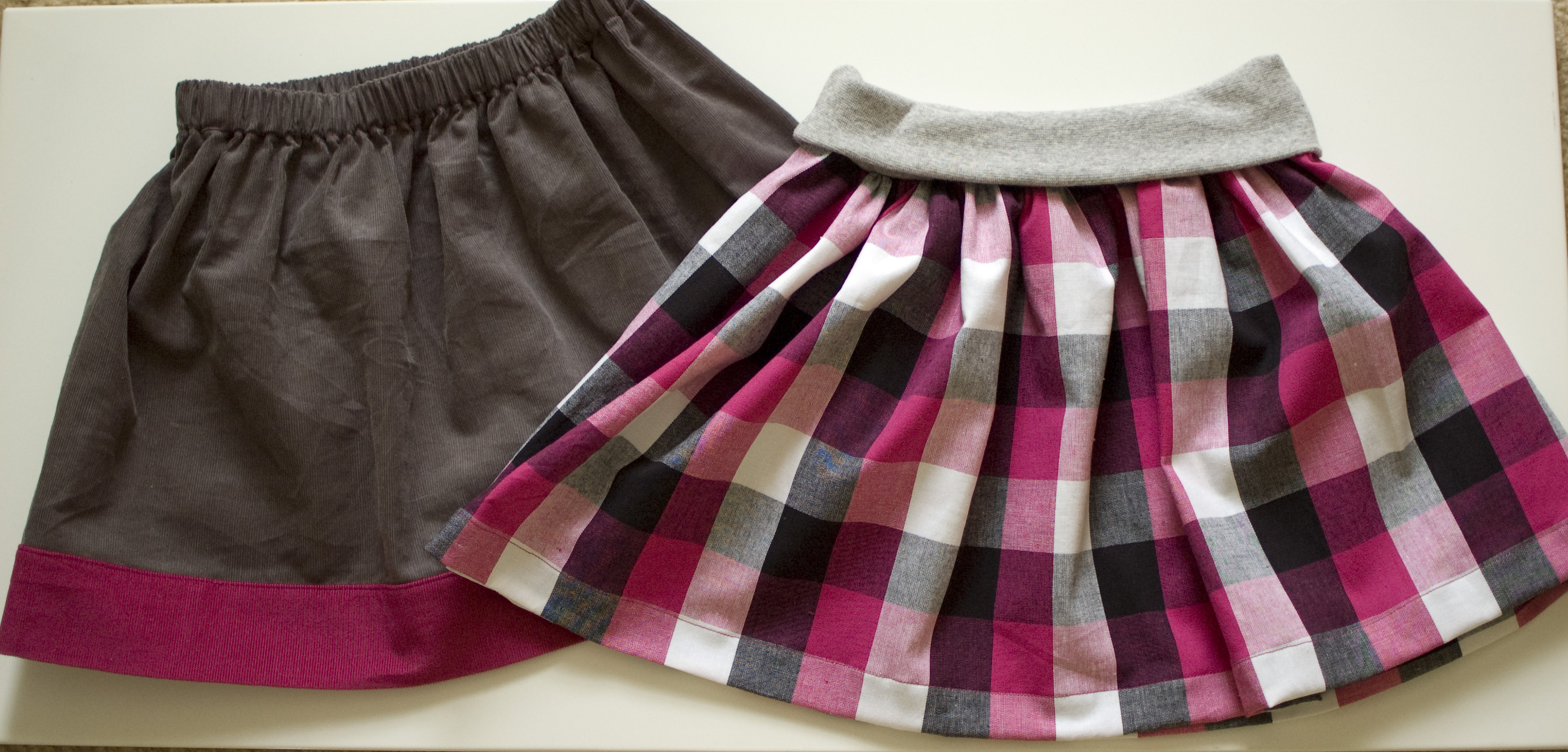 Two Simple Skirts (KCWC Day 1)