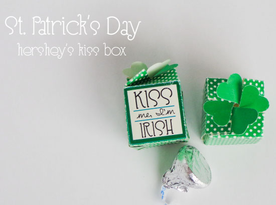 Shamrock Kiss Box